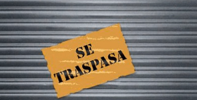 traspasar un  local comercial